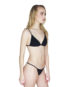 Cantik Swimwear Pheonix Black Ribbed side