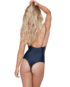 Stone Fox Swim Hermosa One Piece Onyx Back