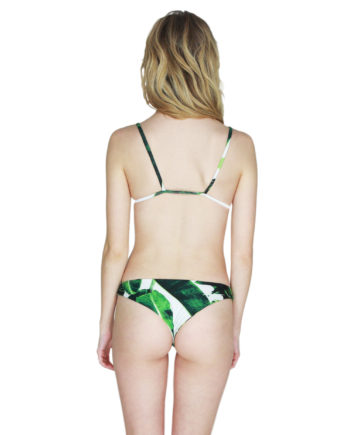 Stone Fox Swim banana isla Top malibu Bottom back