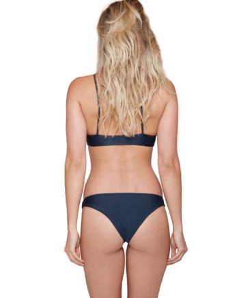 stone fox swim onyx malibu bottom back