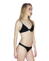 Aila Blue cathedral top ocean bottom black side