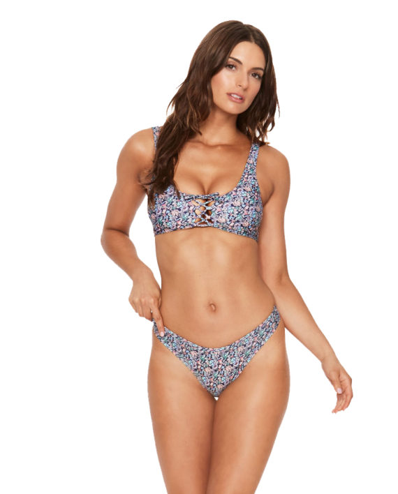 LSpace Midnight Blue Whiplash Bottom Romi Top Front