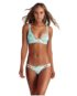 Vitamin A Blue Lagoon Neutra Bralette and Neutra Hipster Front