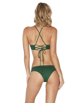 L Space Emerald Flynn Top Pixie Bottom Back