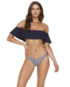 LSPACE Hey Girl Top and Whiplash Bottom Front