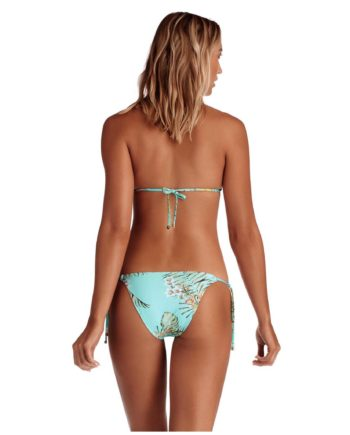 Vitamin A Blue Lagoon Gia Top and Tara Bottom Back